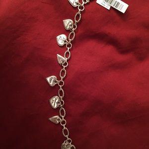 Brighton bracelet with reversible hearts.